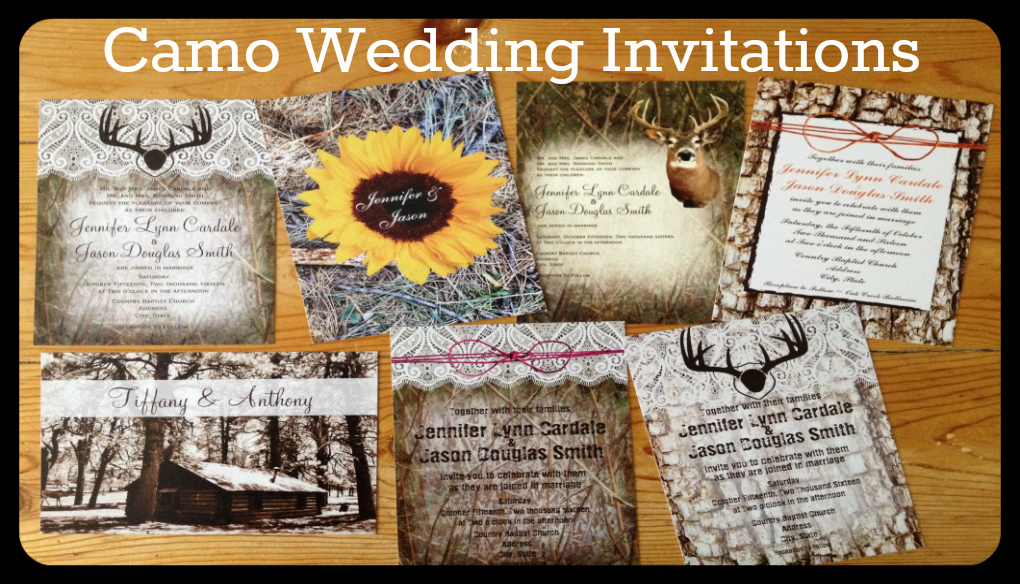 featured new designs - Country Rustic Wedding Invitations